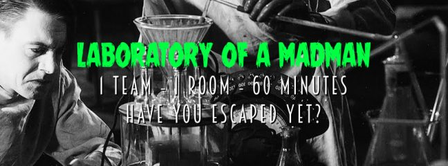 Escape Game Brighton: Laboratory of a Madman