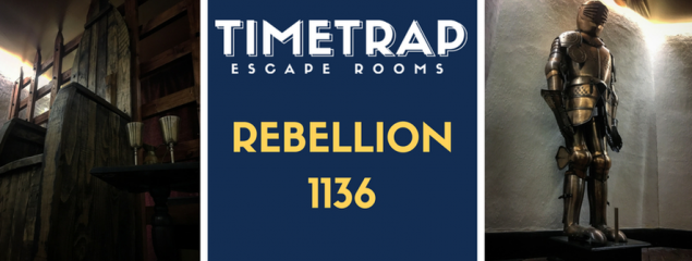 TimeTrap Escape Rooms (Reading): Rebellion 1136