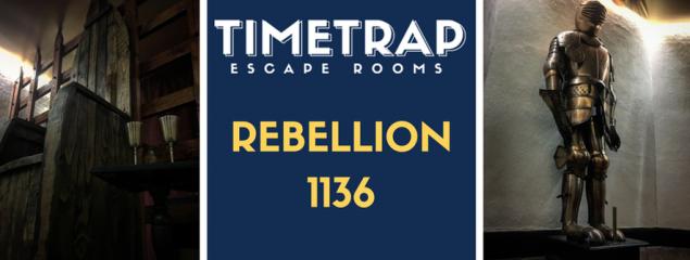 TimeTrap Escape Rooms (Reading): Rebellion 1136