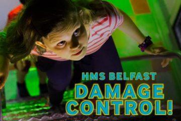 Imperial War Museums/HMS Belfast/Clockwork Dog (London): Damage Control