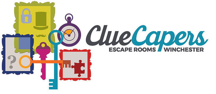Clue Capers logo