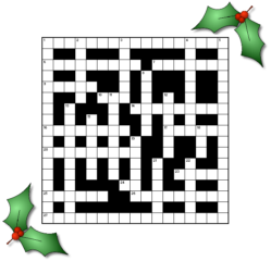 Christmas Conventional Crossword